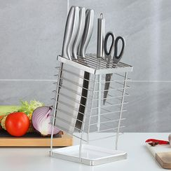 Worthbuy - Stainless Steel Knife Drying Rack