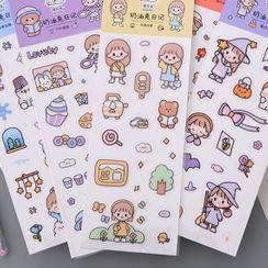 Katiz - Cartoon Stickers ( Various Designs )