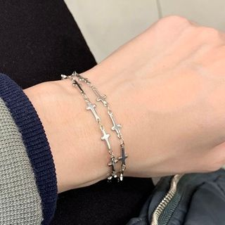 PANGU - Stainless Steel Cross Bracelet