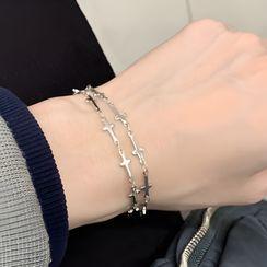 PANGU - Stainless Steel Cross Bracelet