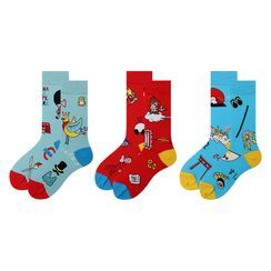 Nyan - Printed Socks (Various Designs)