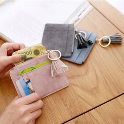 Pieris - Tasseled Faux Leather Card Holder
