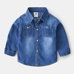 Seashells Kids - Kids Denim Shirt
