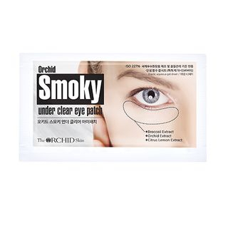 The ORCHID Skin - Orchid Smoky Under Clear Eye Patch 2pcs