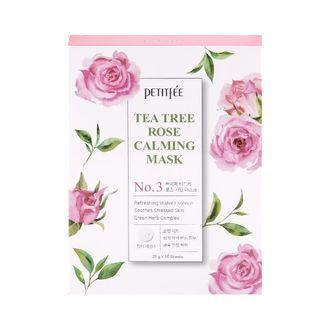 PETITFEE - Tee Tree Rose Calming Mask Set
