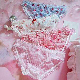 Prinsis - Printed Mesh Panties (Various Designs)