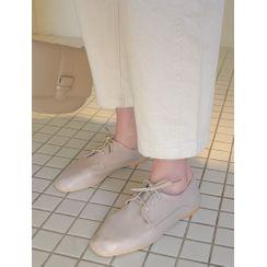 J-ANN - Band-Waist Baggy Pants