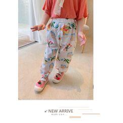 Cerula - Kids Printed Cropped Harem Pants