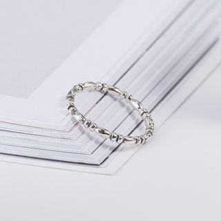 CHOSI - 925 Sterling Silver Retro Ring