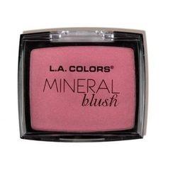 L.A. Colors - Mineral Blush (24 Colors), 0.15oz