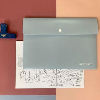Cute Essentials - Plain  A4 Document Folder