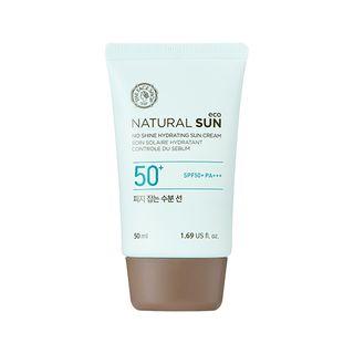 THE FACE SHOP - Natural Sun Eco No Shine Hydrating Sun Cream SPF50+ PA+++ 50ml