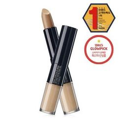 The Saem - Cover Perfection Ideal Concealer Duo (#02 Rich Beige)
