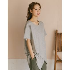 GOROKE - Layered Long T-Shirt