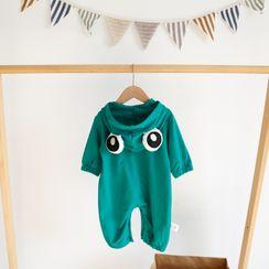 MOM Kiss - Kids Frogs Eyes Hoodie / Pants / Set