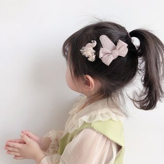 Sweet la Vie - Kids Set of 2: Bow & Duck Hair Clip