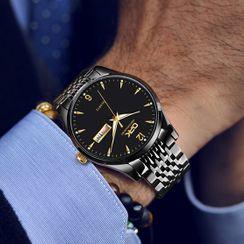 腾翼 - 不锈钢带式手表