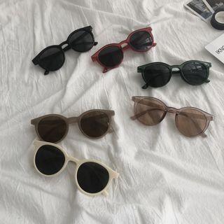 Aisyi - 防紫外线圆形太阳眼镜