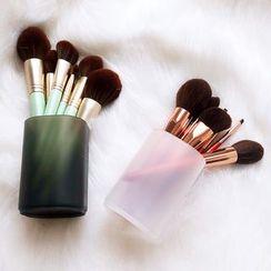 Minty Cat - Translucent Makeup Brush Holder