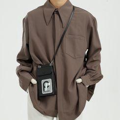 FAERIS - Long-Sleeve Plain Shirt