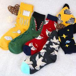 Spider Lily(スパイダーリリー) - Mid-Calf Socks (Different Designs)