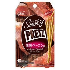 Glico - Pretz Biscuit Sticks Delicious Smoked Bacon Flavor