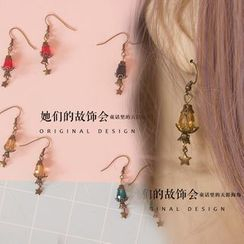 AOI - Oil Lamp Drop Earring