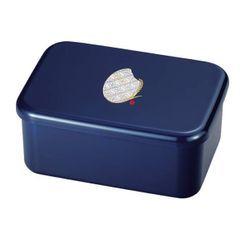 Hakoya - Hakoya Komemon Rectangular Lunch Box 870ml (Navy)