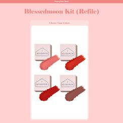 BLESSED MOON - Blessed Moon Kit Lipstick Refill Only - 4 Colors