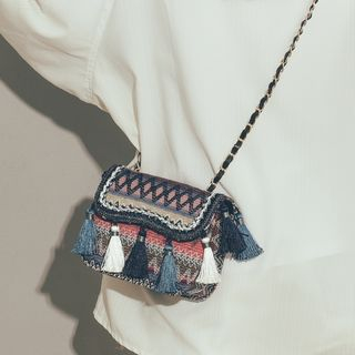 Felicity - Tasseled Crossbody Bag