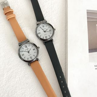 Honey Bee - Bow Round Strap Watch