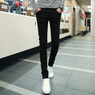 Acrius - High-Waist Skinny Pants