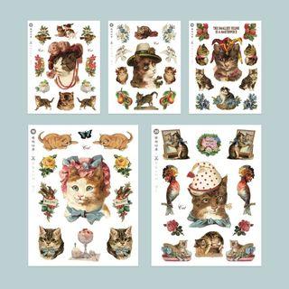 Full House - nacoo-小貓印花貼紙