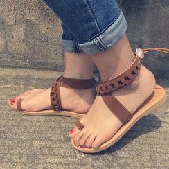 Tania - Cross Strap Roman Sandals