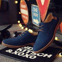 Taragan - Genuine Leather Oxford Shoes