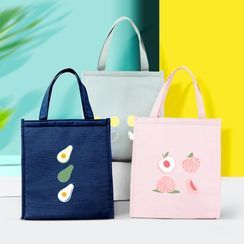 Fun House - Fruit Print Insulated Lunch Bag