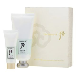 The History of Whoo - Gongjinhyang Seol Brightening Foam Cleanser Special Set: Foam Cleanser 180ml + 40ml