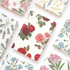 iswas - ''Paperian'' Series Flower-Printed Diary - (S)