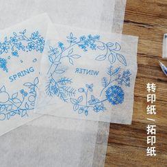 Anffleur - Embroidery Transfer Sticker