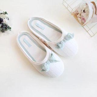 Furana - 蕾丝丝带家居拖鞋