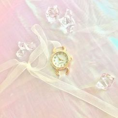 Hello minto - Ribbon Strap Watch Set