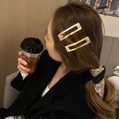 Kokyu - Brushed Alloy Hair Clip