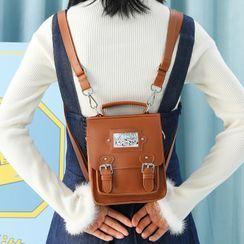Nibby - Top Handle Crossbody Satchel Bag