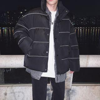 LOOKUN - Stand Collar Padded Jacket