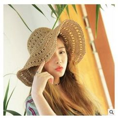 FROME - Perforated Straw Hat
