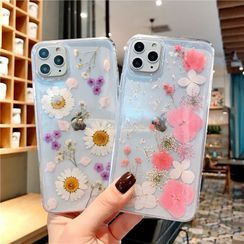 NISI - Floral Phone Case - iPhone XR, iPhone XS MAX, iPhone X, iPhone 7 / 8, iPhone 7 Plus / 8 Plus, iPhone 6 / 6s, iPhone 6 Plus / 6s Plus, iPhone11, iPhone11 PRO, iPhone11 PRO MAX