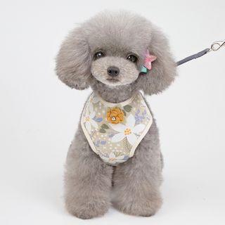 Fabcast - Floral Print Pet Harness
