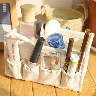 Hyole - 棉麻化妝品收納盒