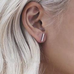 HEDGY - Bar Stud Earrings