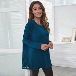 Balloww - Long-Sleeve Plain T-Shirt